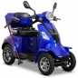 Preview: Rolektro E-Quad 25 km/h Blau